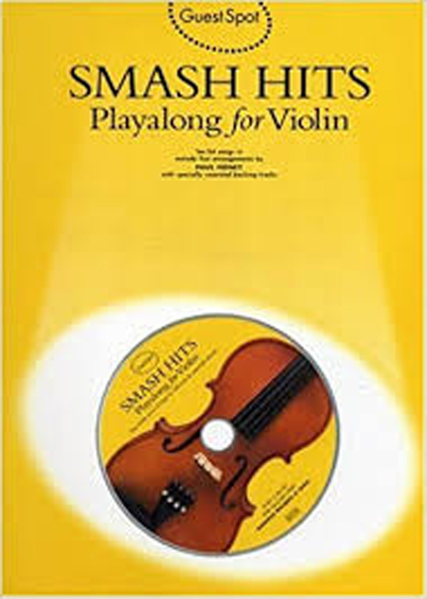 Guest Guest Spot Smash Hits Playalong for Violin Book CD S137