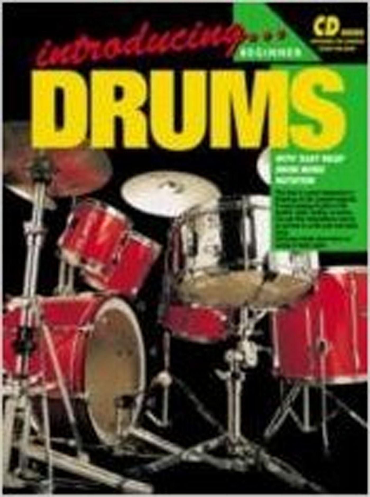 Introducing Drums Beginner Tutor Book by Steve Sheir S94