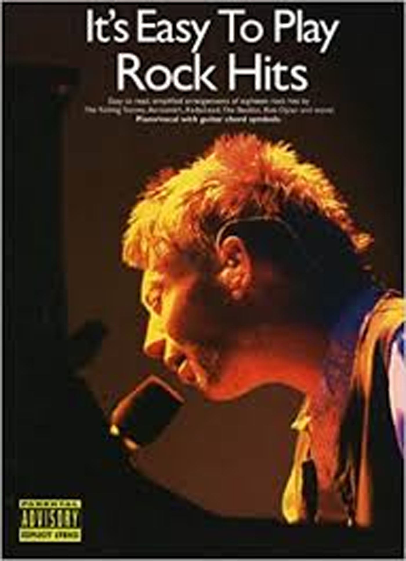 It's Easy To Play Rock Hits Book Piano Vocal Guitar Chord Symbols 18 Songs S141