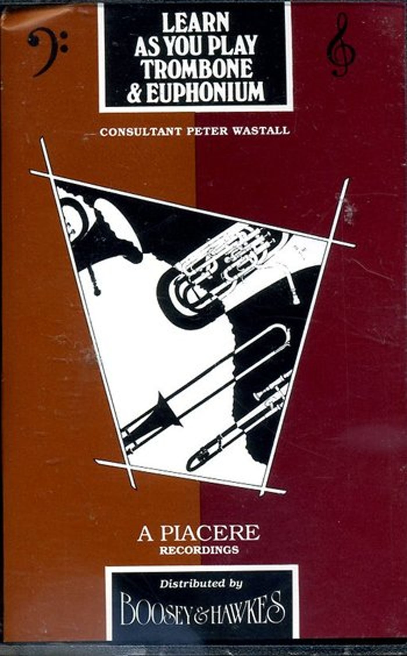 Learn AsYou Play Trombone & Euphonium Bass Clef Peter Wastell S94