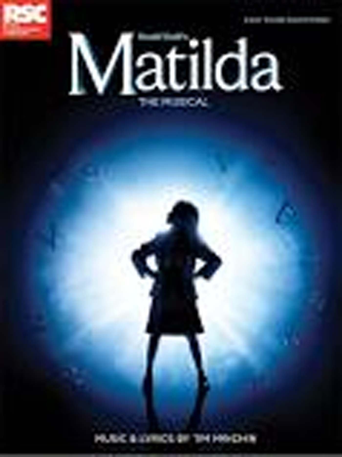 Roald Dahl Matilda The Musical Piano Vocal Book Photos S102