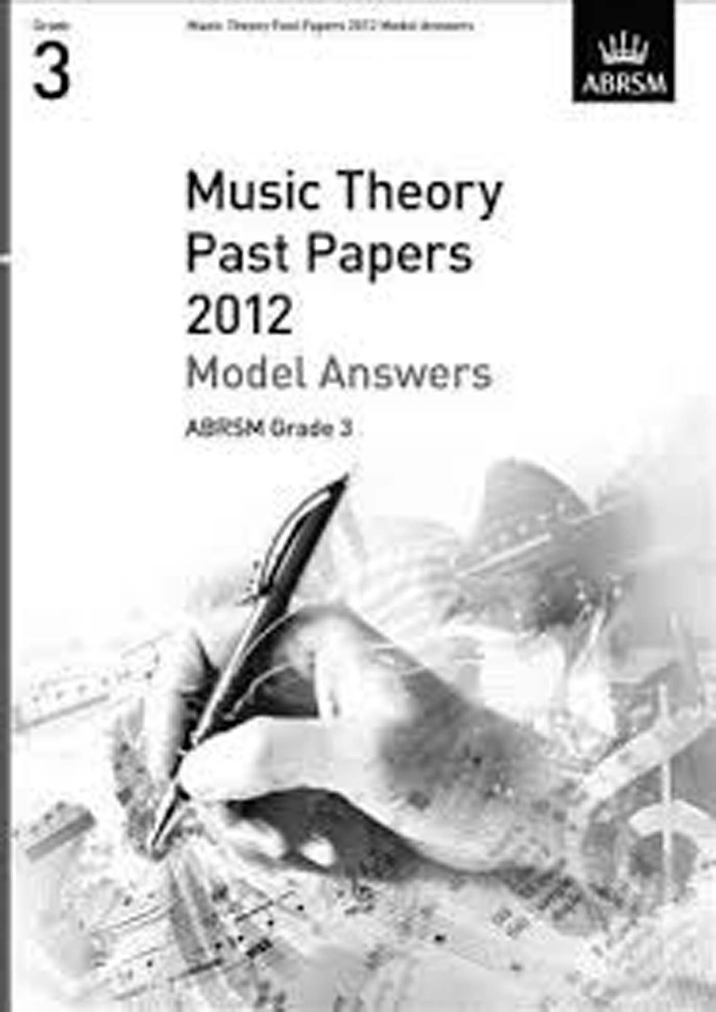 ABRSM Music Theory Past Paper 2012 Model Answers Grade 3 Book S124