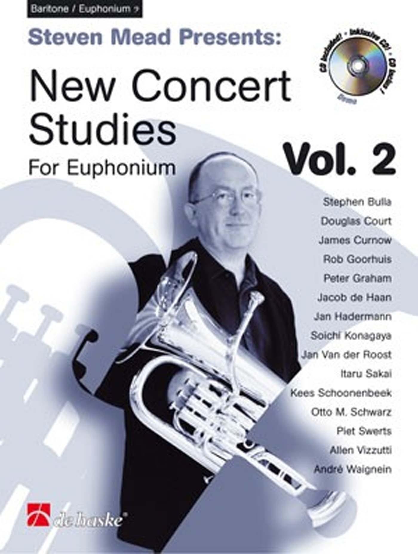 Steven Mead New Concert Studies for Euphonium Baritone Vol 2 Book & CD S162