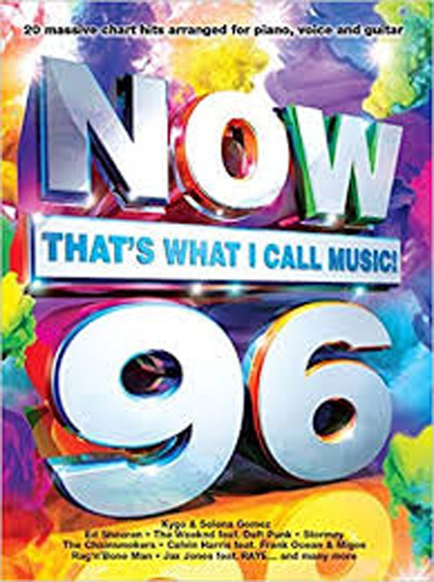 Now 96 That's What I Call Music Book Piano Voice Guitar Chart Hits S101
