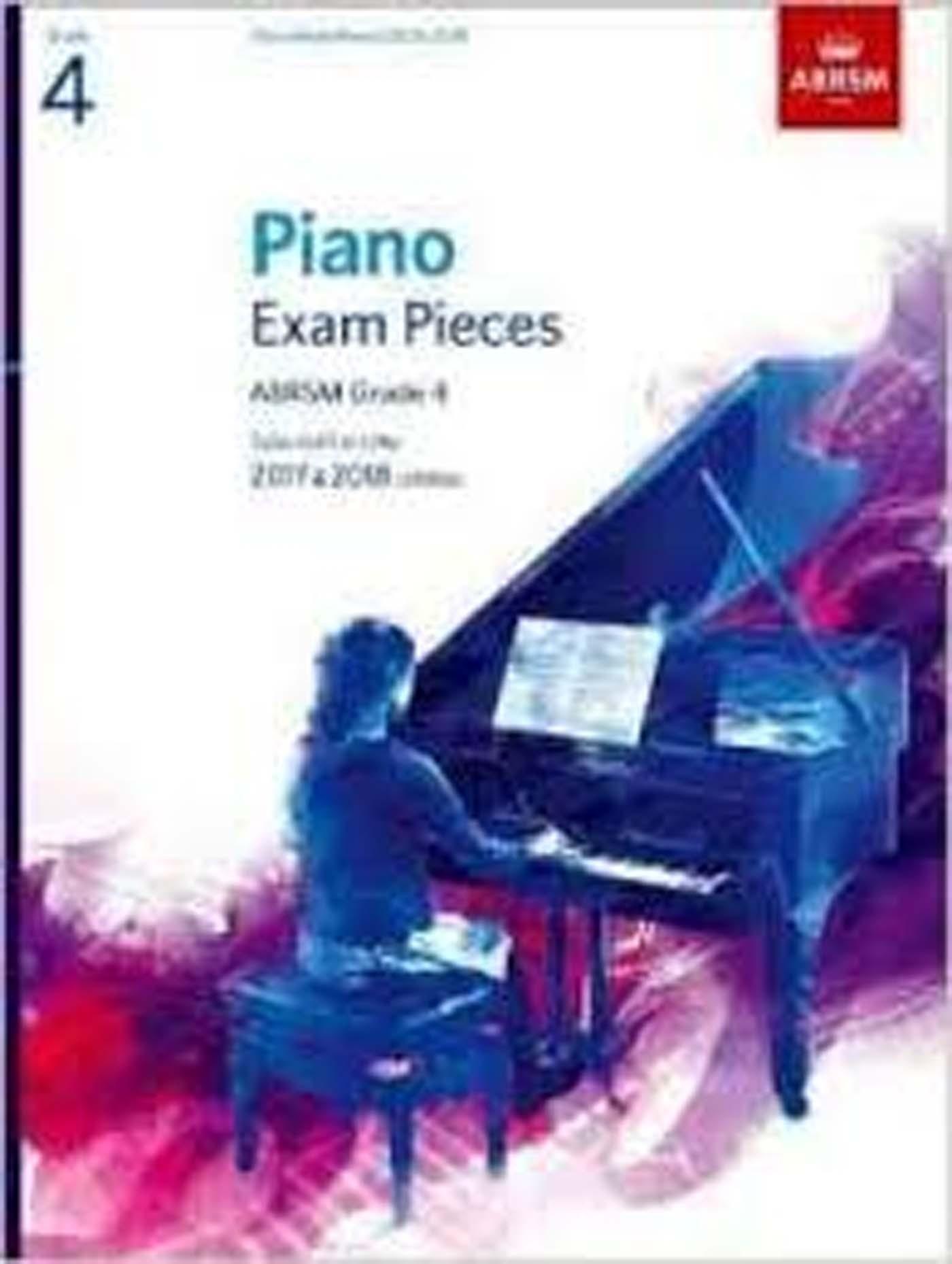 Piano Exam Pieces ABRSM Grade 4 2017 & 2018 Syllabus Exam Book S162