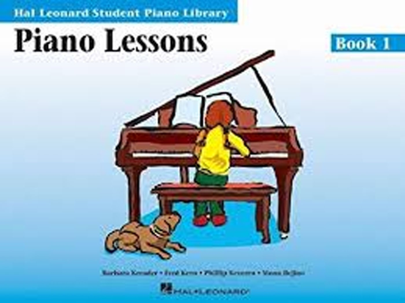 Student Library Piano Lessons Book 1 Big Notes Children's Beginner Learn S145
