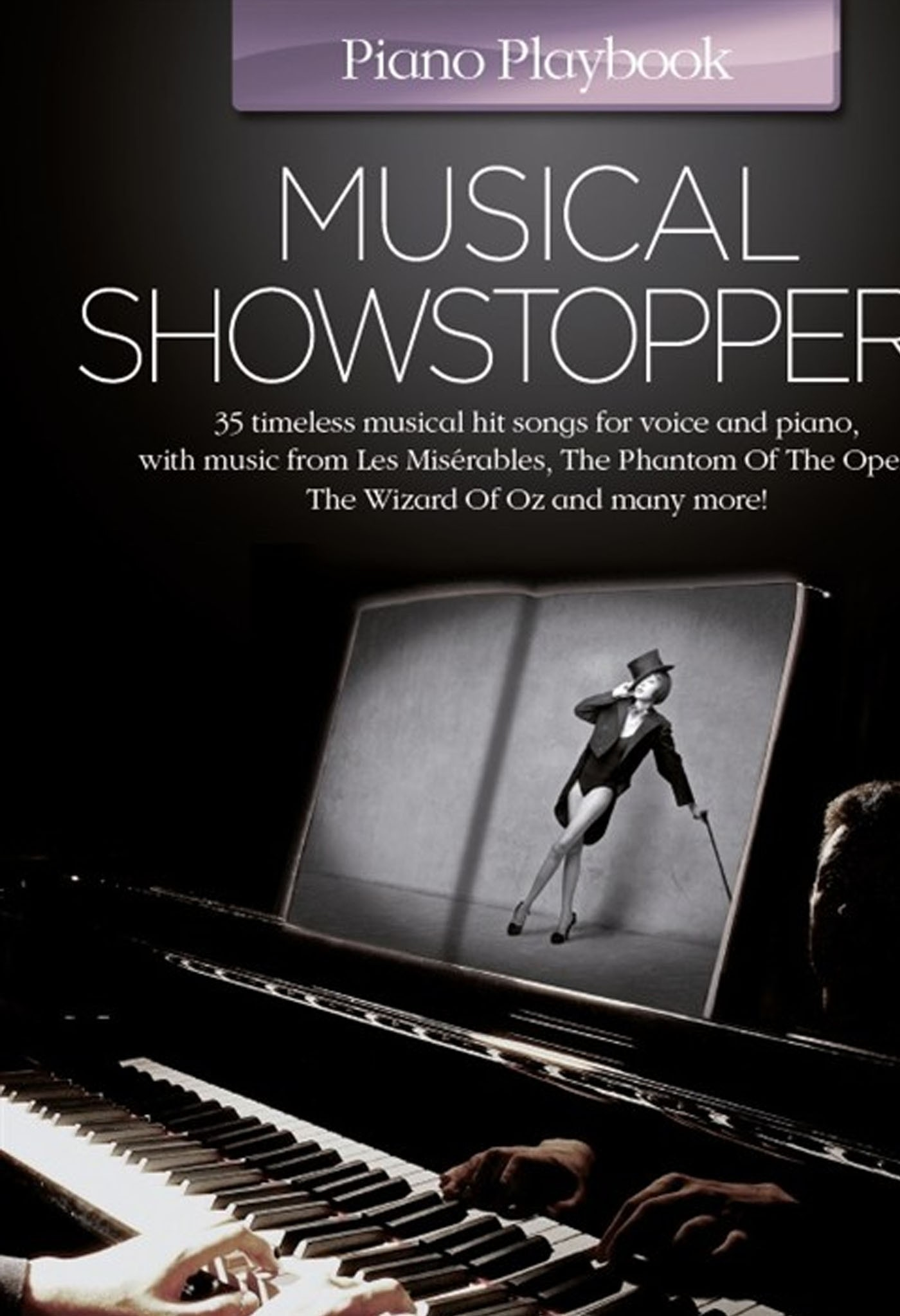 Piano Playbook Musical Showstoppers 35 Timeless Songs Voice Spiral Bound S168