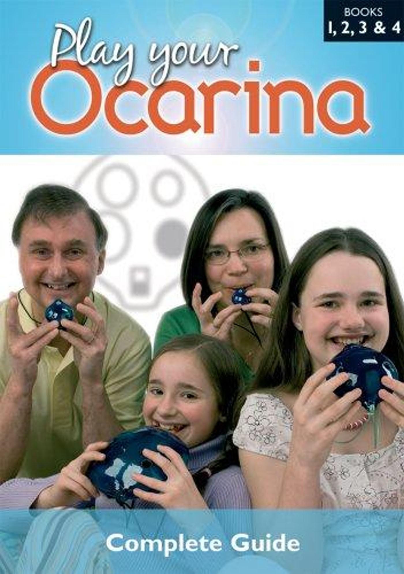 Play Your Ocarina Books 1-4 Graded World Folk Tunes Songs Liggins S147