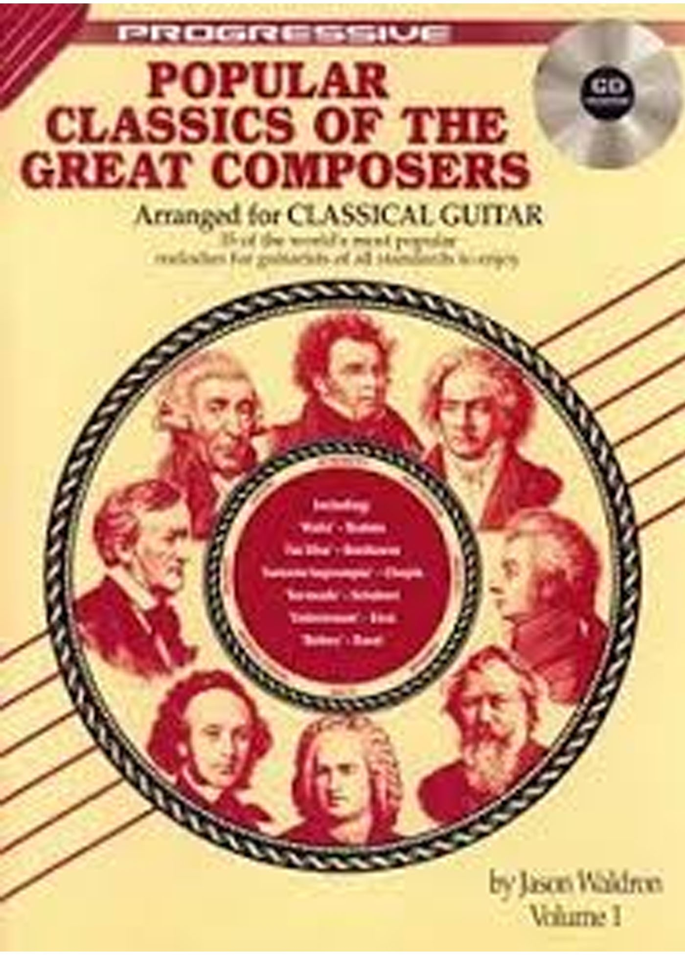 Popular Classics Of  The Great Composers Book Volume 1 Classical S141