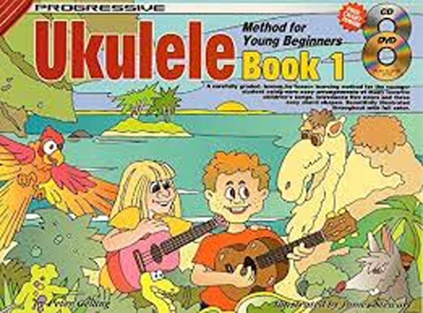 Progressive Ukelele Book 1 Method For Young Beginners CD & DVD S162