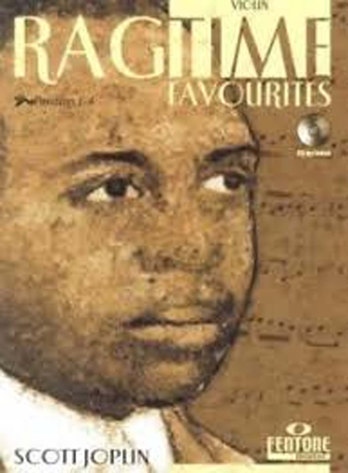Ragtime Favourites Scott Joplin Book & CD Violin Position 1-4 The Entertainer S168