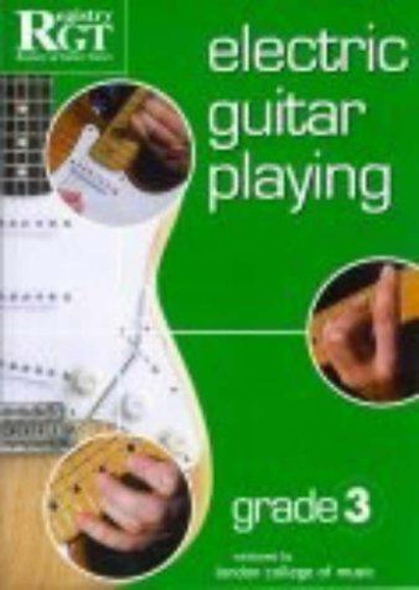 RGT Exam Electric Guitar Playing LCM Grade Book 3 Tony Skinner S98