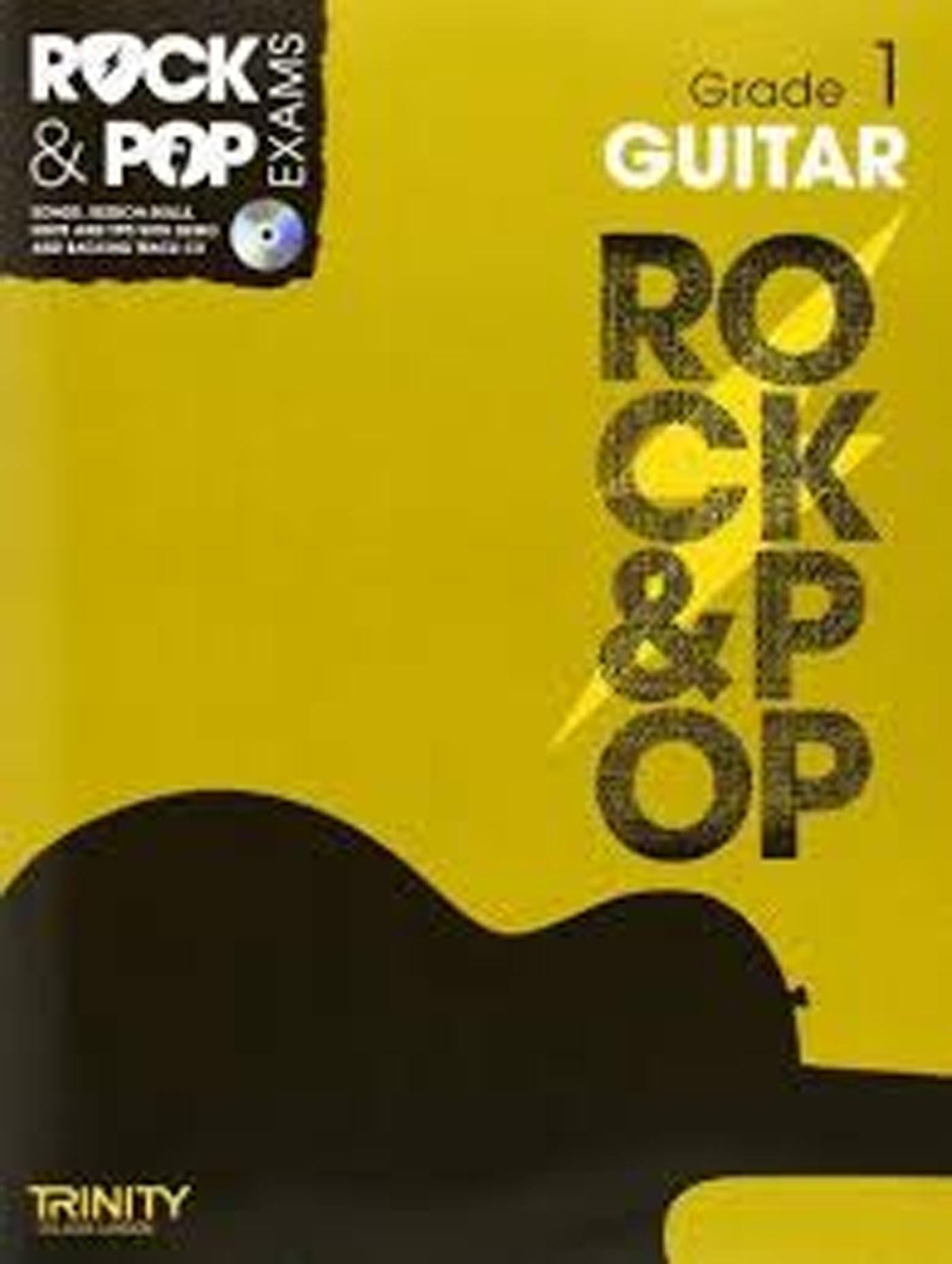 Rock & Pop Exams Guitar Grade 1 Book & CD Trinity College London S147