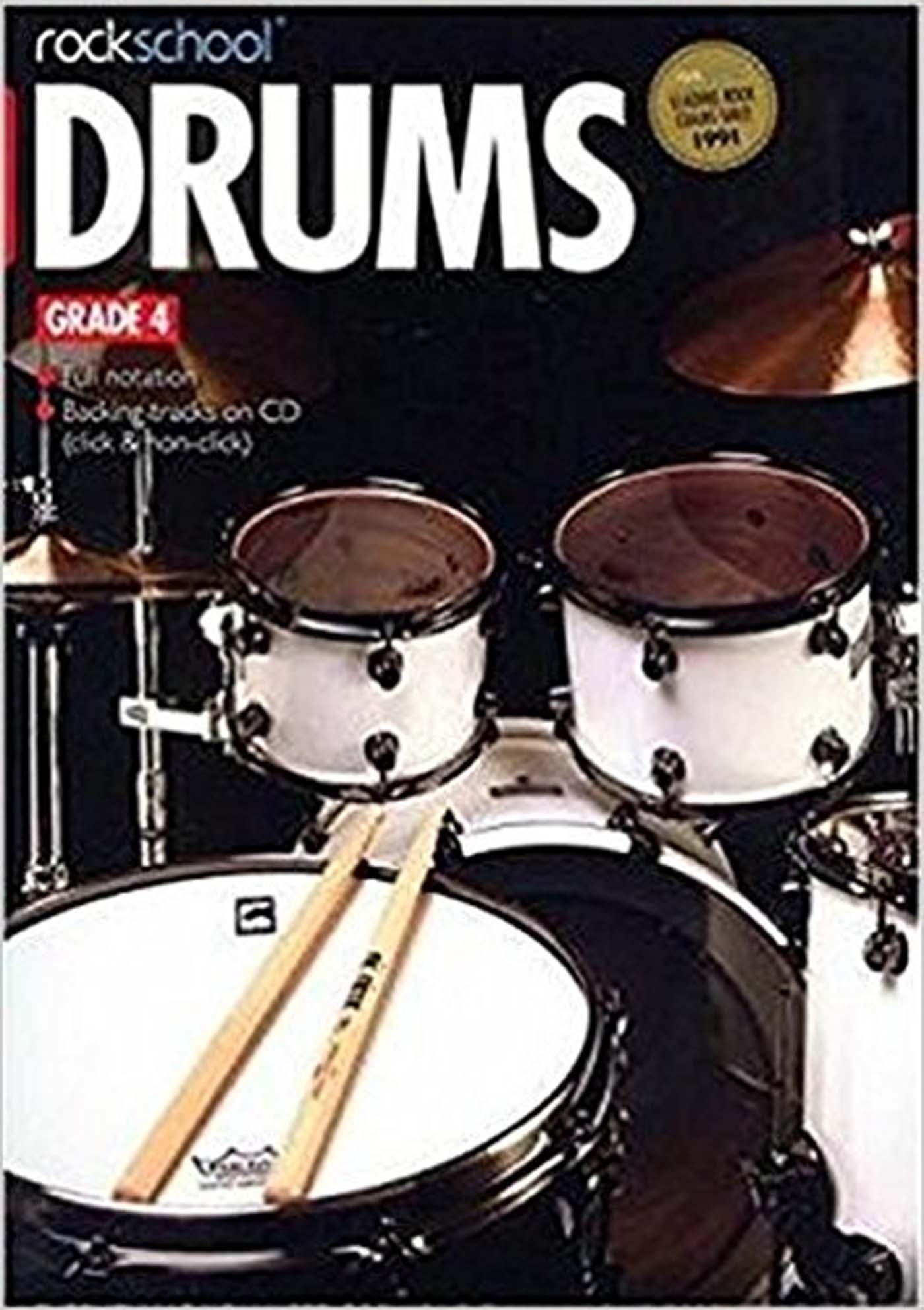 Rockschool Drums Grade 4 Book & CD for Exams S162