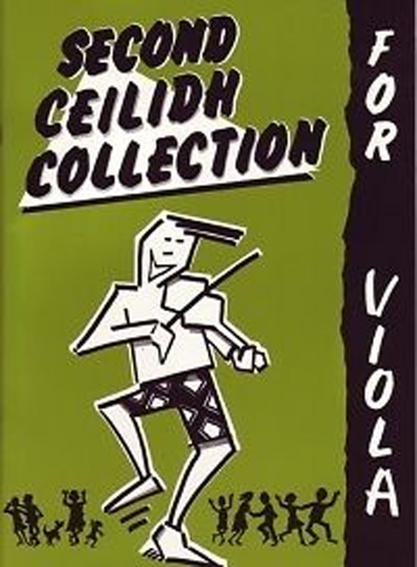 The Second Ceilidh Collection For Viola Book Scottish Fiddle Violin S148