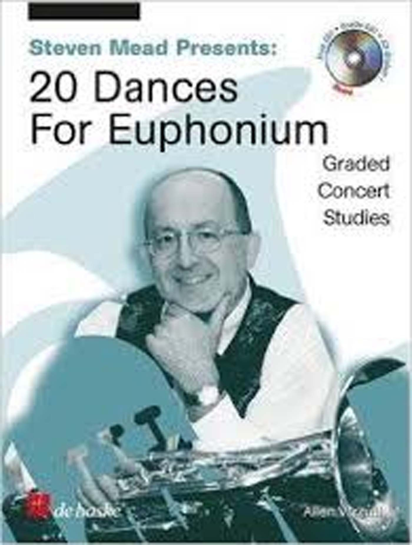 Steven Mead 20 Dances For Euphonium Baritone Graded Studies Book & CD S162