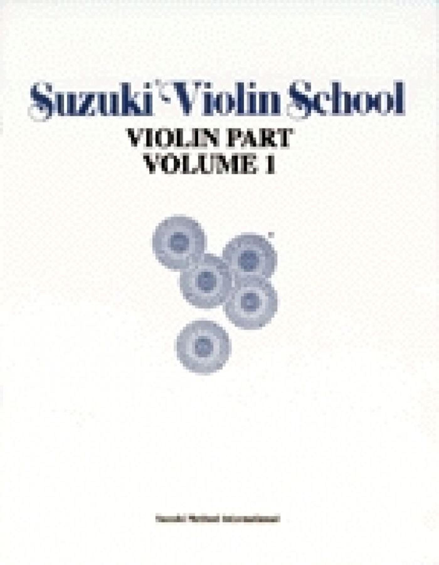 Suzuki Violin School Violin Part Volume 1 Book Tutor Studies Exercises S138