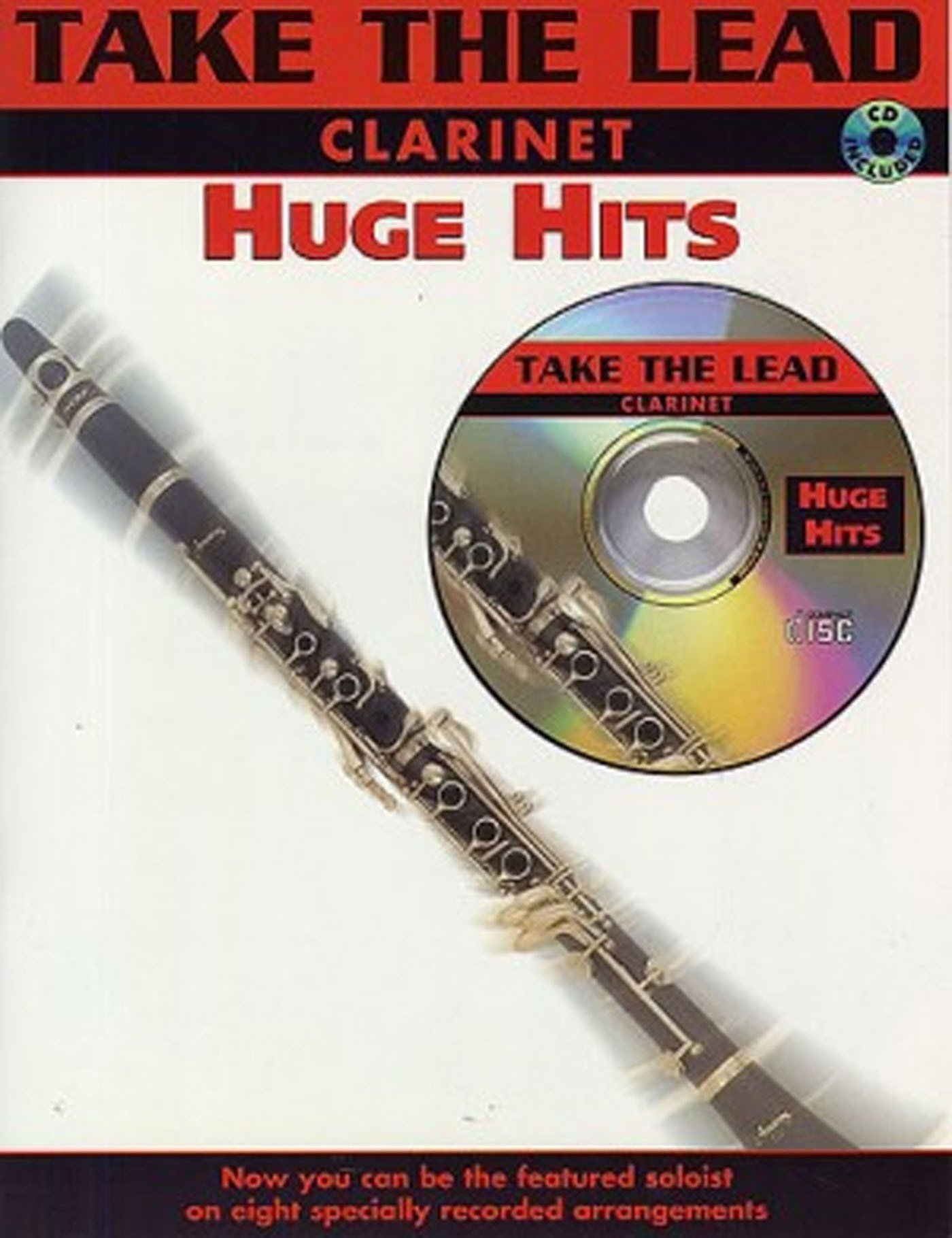 Take The Lead Clarinet Huge Hits Book & CD S137