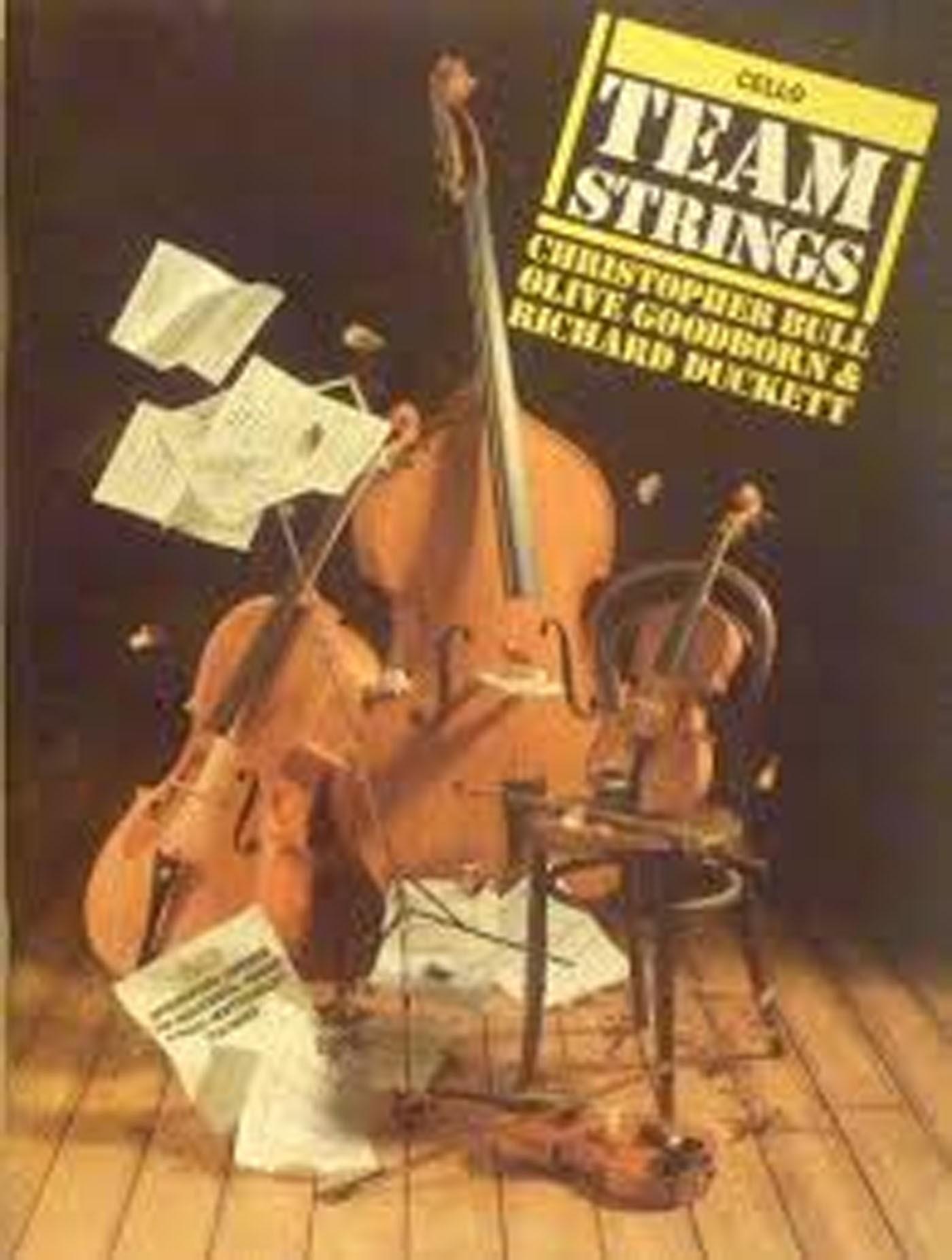 Team Strings Cello Beginner Tutor Book Individual / Group / Mixed Teaching S133