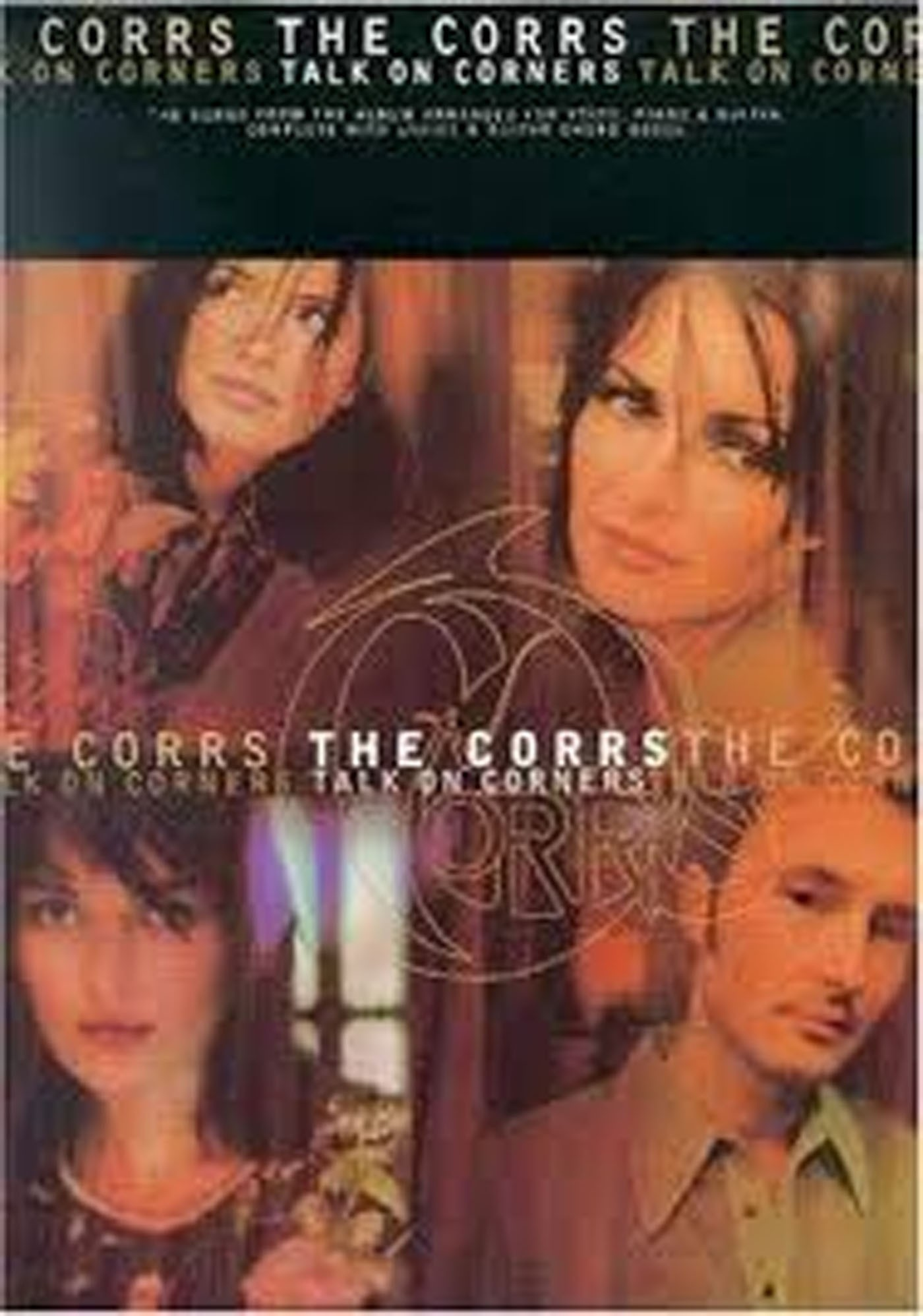 The Corrs Talk On Corners Book Piano Voice Guitar Songbook S133