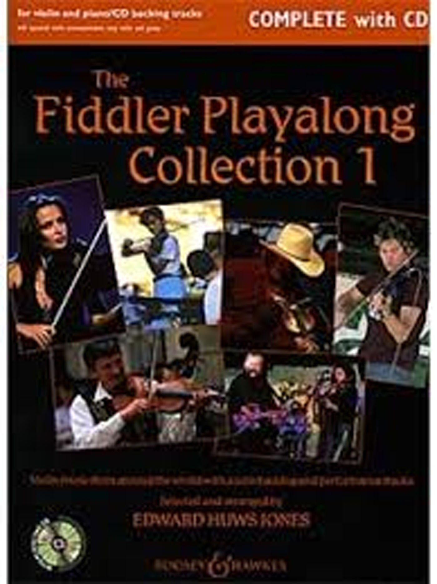 The Fiddler Playalong Collection 1 Book CD Violin Piano Edward Huws Jones S147