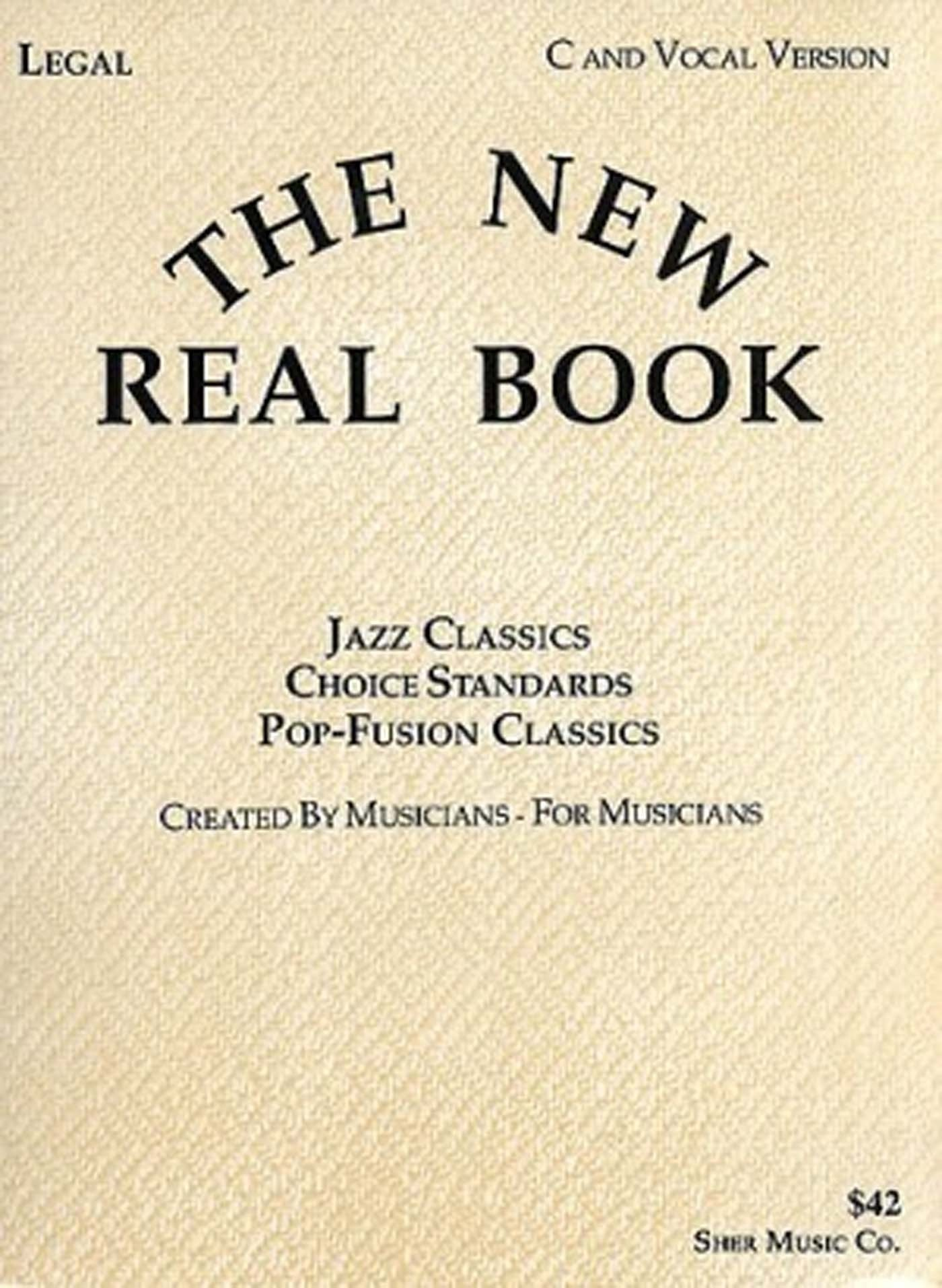 The New Real Book C & Vocal Version Spiral Bound Classics Standards S125