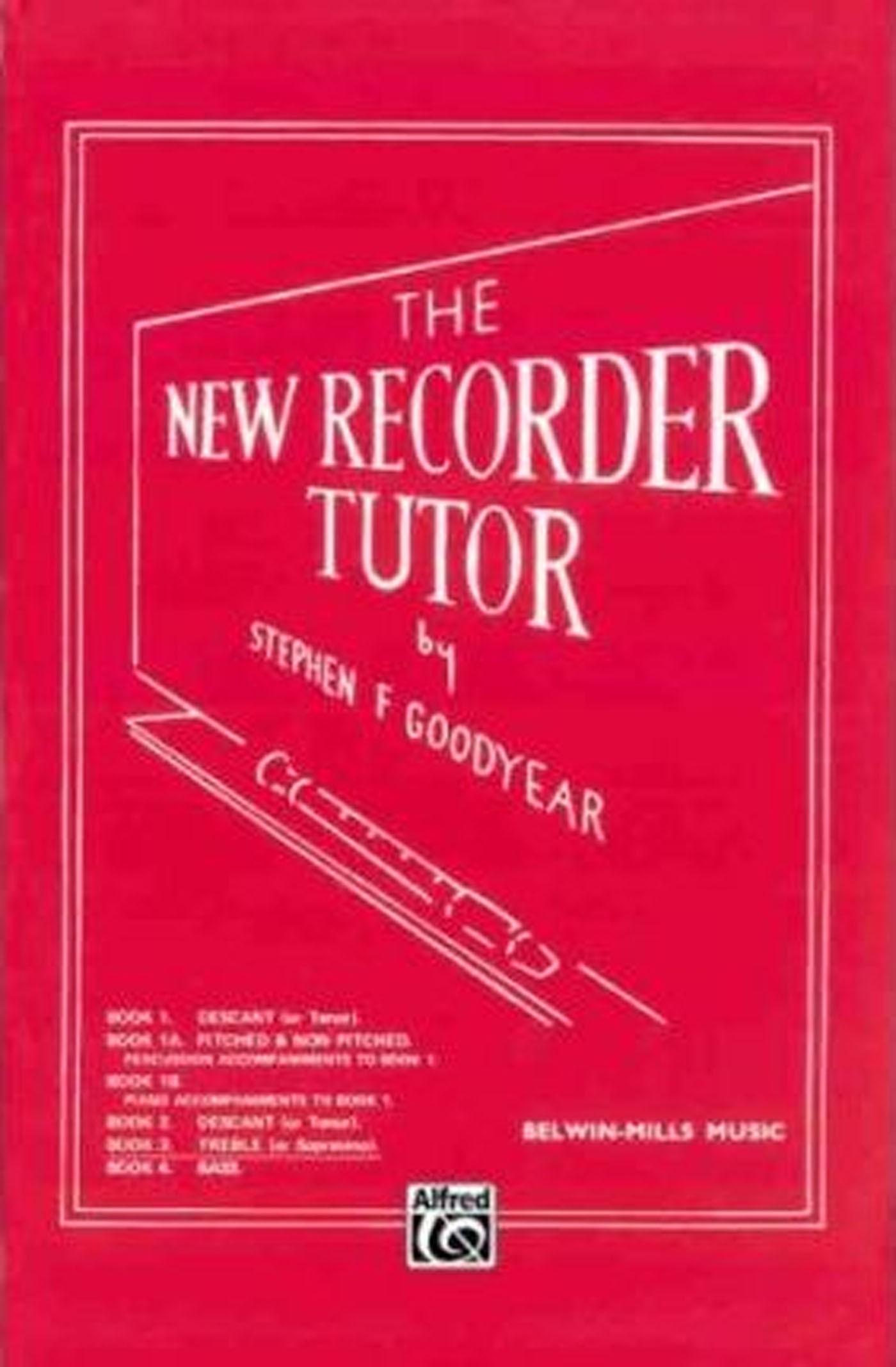 The New Recorder Tutor Book 3 Treble / Alto or Sopranino Stephen Goodyear S155