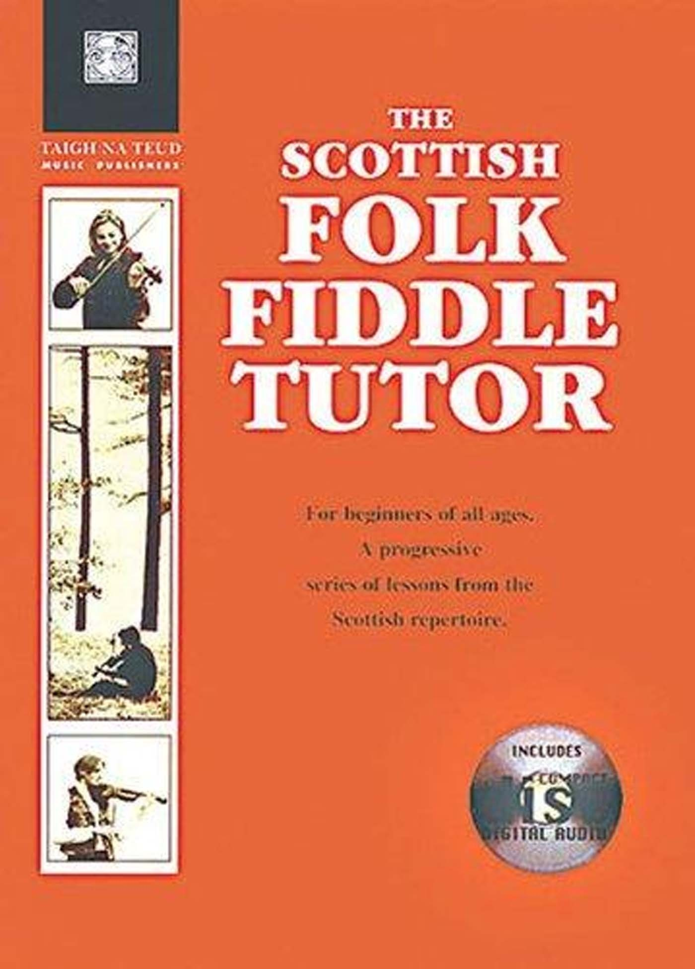 The Scottish Folk Fiddle Tutor Book Violin Beginner Progressive Lessons S147