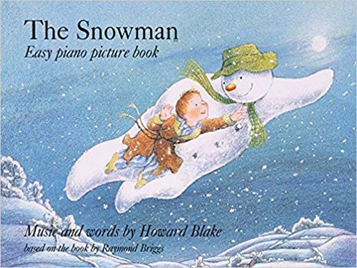The Snowman Easy Piano Picture Book Howard Blake S98