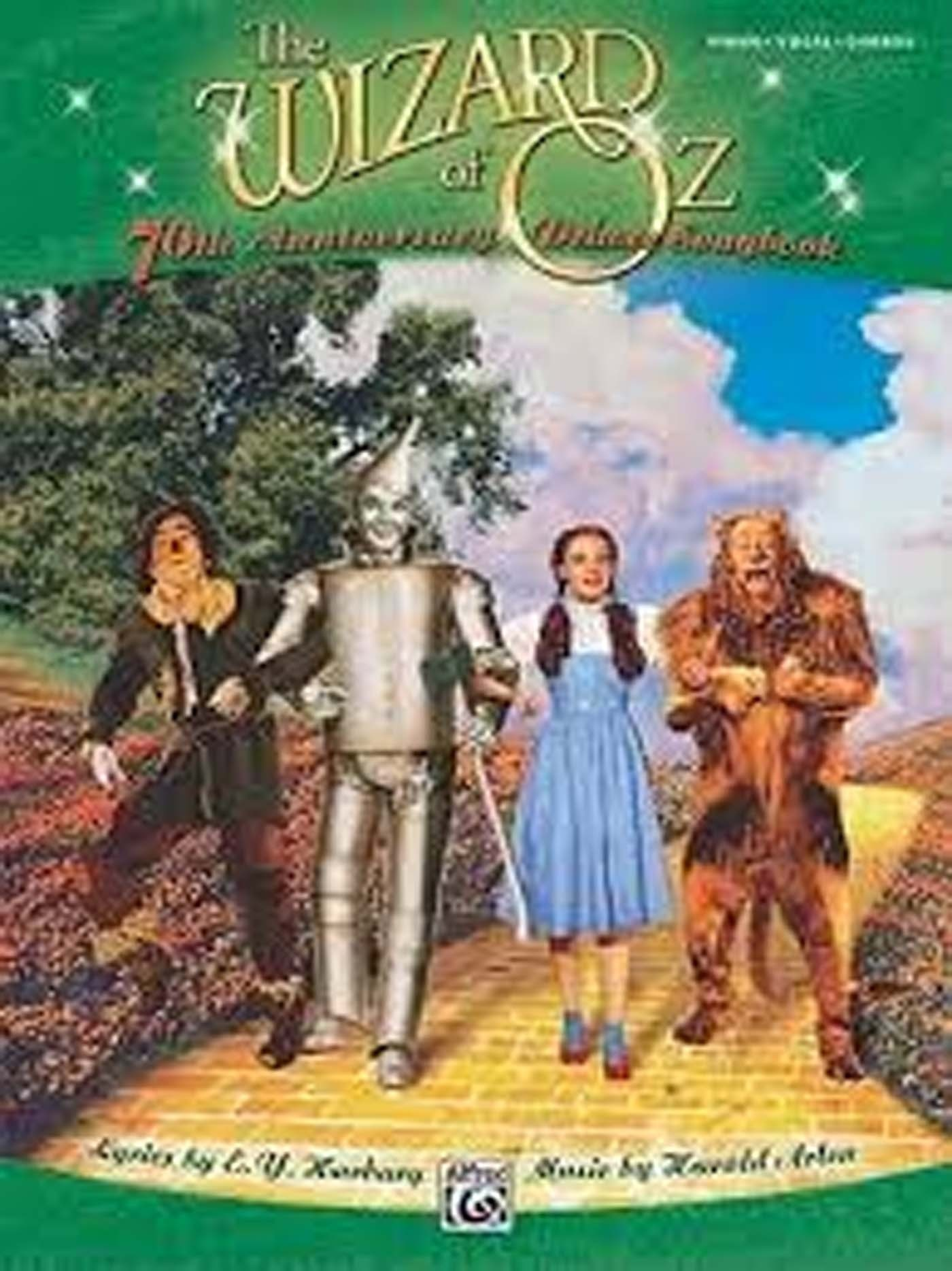 The Wizard Of Oz 70th Anniversary Deluxe Songbook Piano Vocal Chords Book S98
