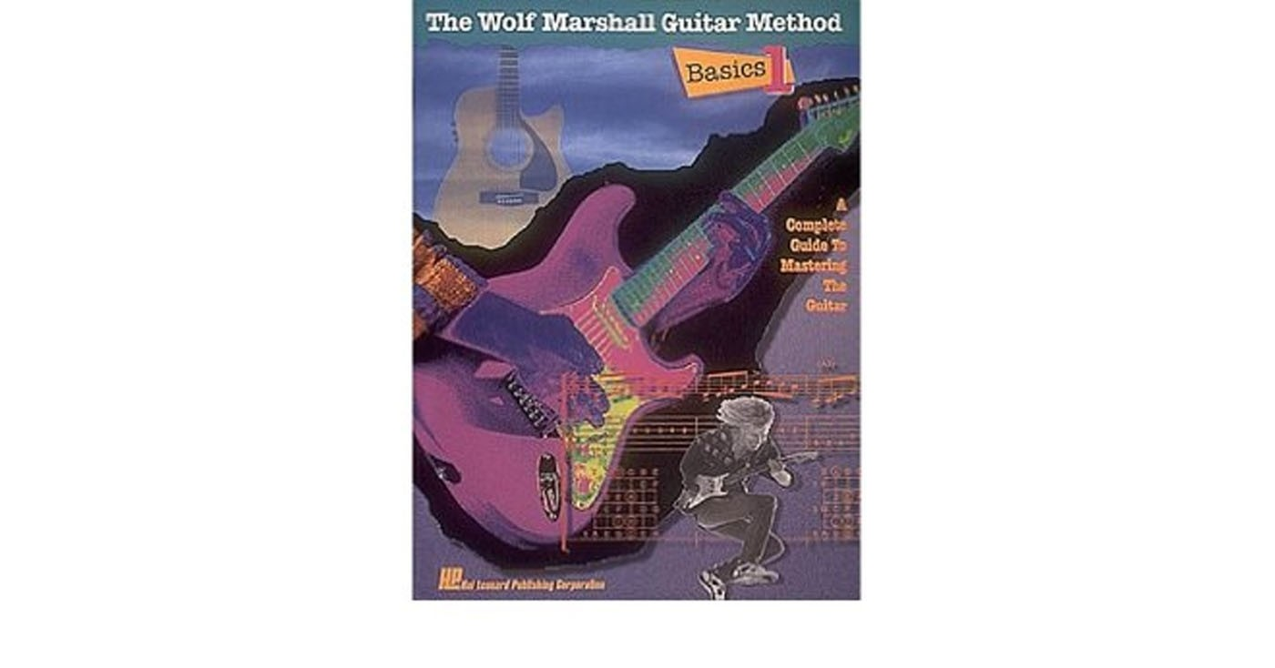 The Wolf Marshall Guitar Method Basics 1 A Complete Guide Book & Cassette S94
