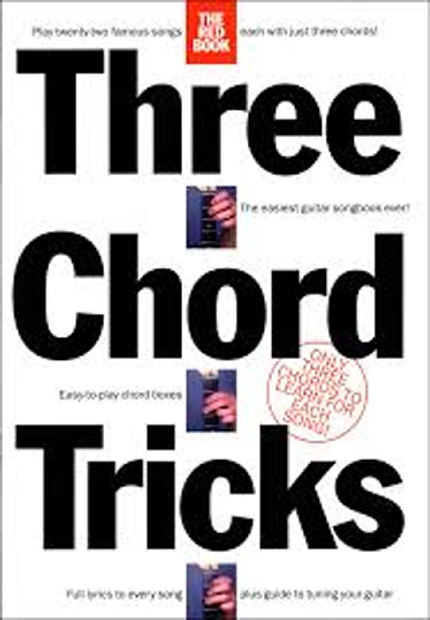 Three Chord Tricks Guitar Book Famous Songs Lyrics Chords Chord Boxes S147