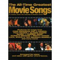 The All-Time Greatest Movie Songs Piano Voice Sheet Music Songbook Book Film S02