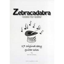 Zebracadabra Music for Guitar Book Original Easy Solos by David Cottam B37 S102