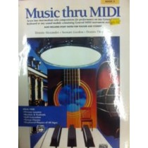 Music Thru Midi Book 3 Intermediate Solo Pieces Tutor Book Sheet Music S98