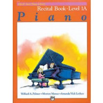 Recital Book Level 1A Piano Sheet Music Beginners Alfred's Basic Piano S103