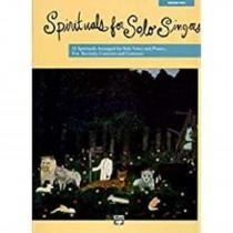 Spirituals For Solo Singers Medium High Solo Voice Piano Sheet Music Book S133