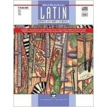 Alfred's Mastertracks Latin C Instruments Treble Clef Sheet Music Book CD S138