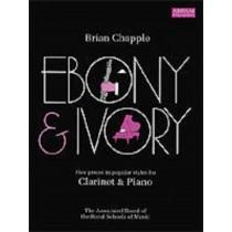 Ebony & Ivory Clarinet Piano ABRSM Brian Chapple Sheet Music Grade 6-8 Book S142
