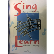 Sing When You're Learning ... While Singing Preuss Spiral Bound Book CD S109 B29