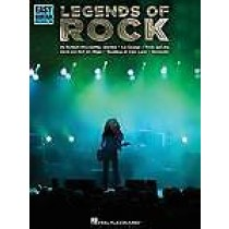 Legends of Rock Easy Guitar with Notes & TAB Book Hal Leonard B40