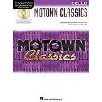Instrumental Play-Along for Cello Motown Classics Book & CD Easy Grade 1-4 B49