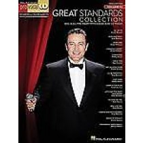 Pro Vocal Men's Edition Great Standards Collection Sing Along Book CD B60