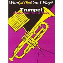 What Jazz N Blues Can I Play? Trumpet Piano Grades 1-3 Sheet Music Book B48 S24