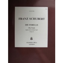 Franz Schubert Die Forelle The Trout Voice Piano Lied Capell Book B47