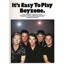 It's Easy To Play Boyzone Piano Sheet Music Songbook Beginner S04
