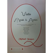 Violin Moods & Antics Michael Jacques Sheet Music Book S172