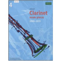 Selected Clarinet Exam Pieces Music Book 2008 - 2013 Grade 4 ABRSM Part Only S01