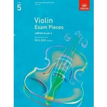 Violin Exam Pieces 2012-2015 Grade 5 Sheet Music Book ABRSM Violin Part Only S01