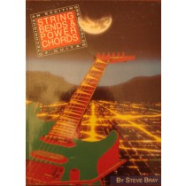 String Bends & Power Chords Guitar Music Technique Tutor Book Steve Bray S158